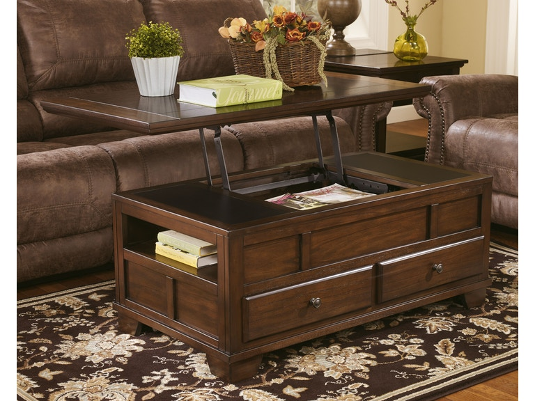 Signature Design By Ashley Living Room Gately Lift Top