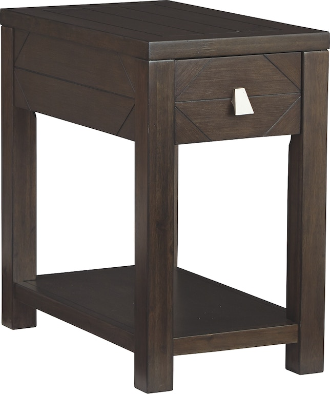 Signature Design By Ashley Living Room Tariland Chairside End