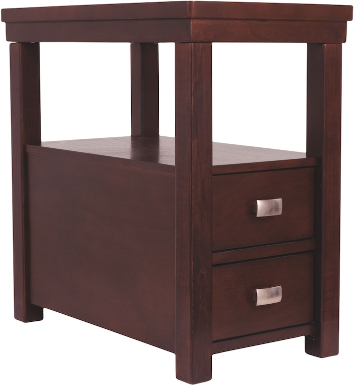 Signature Design By Ashley Living Room Hatsuko Chairside End Table