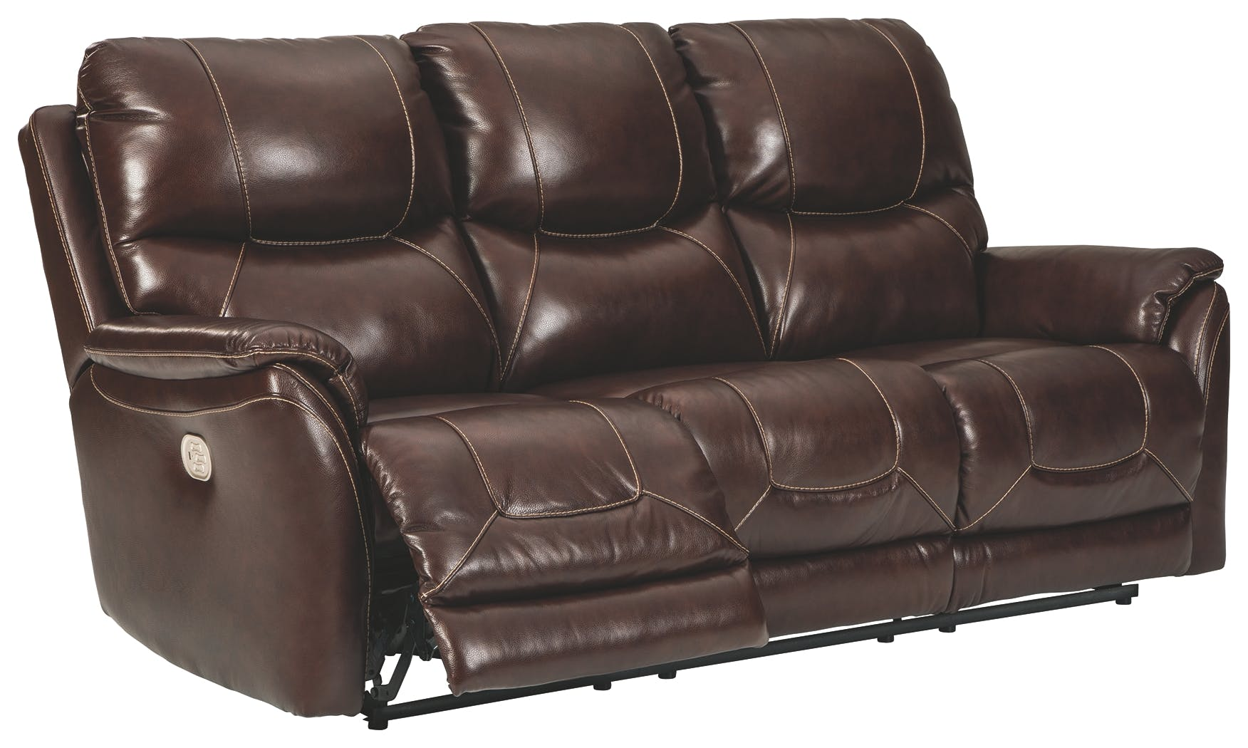 Picture of: Signature Design By Ashley Living Room Dellington Power Reclining Sofa U1150515 Markson S