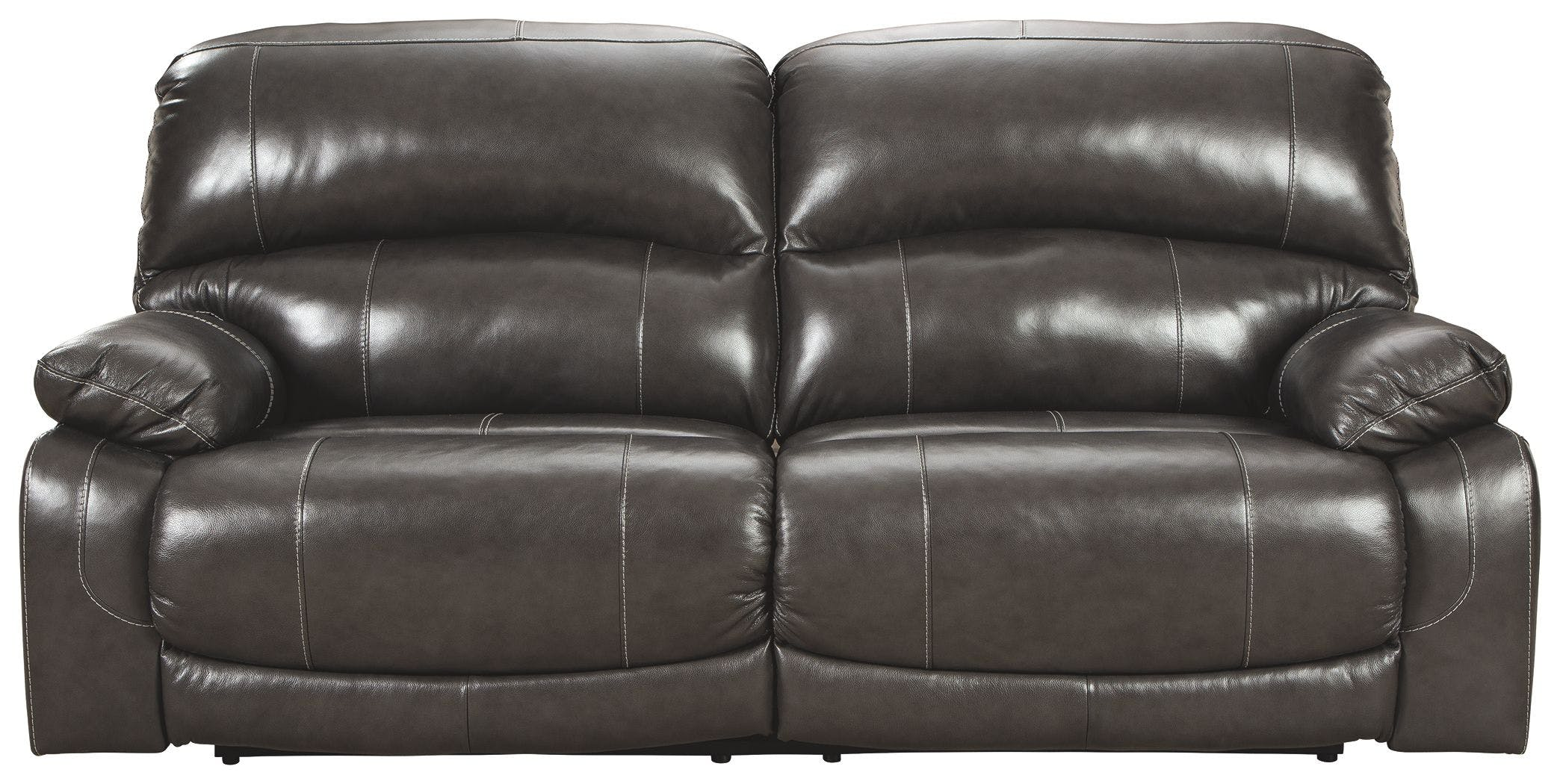Picture of: Signature Design By Ashley Living Room Hallstrung Power Reclining Sofa U5240347 Furniture Market
