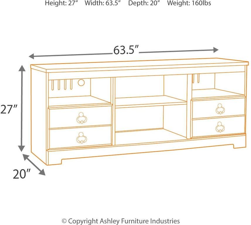 Ashley Furniture Delmar De: Signature Design By Ashley Home Entertainment Willowton 64