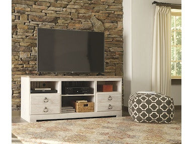 Signature Design by Ashley LG TV Stand w/Fireplace Option W267-68