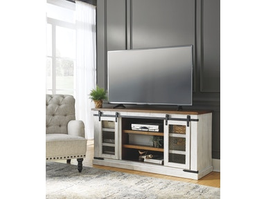 Roddinton Tv Stand With Fireplace