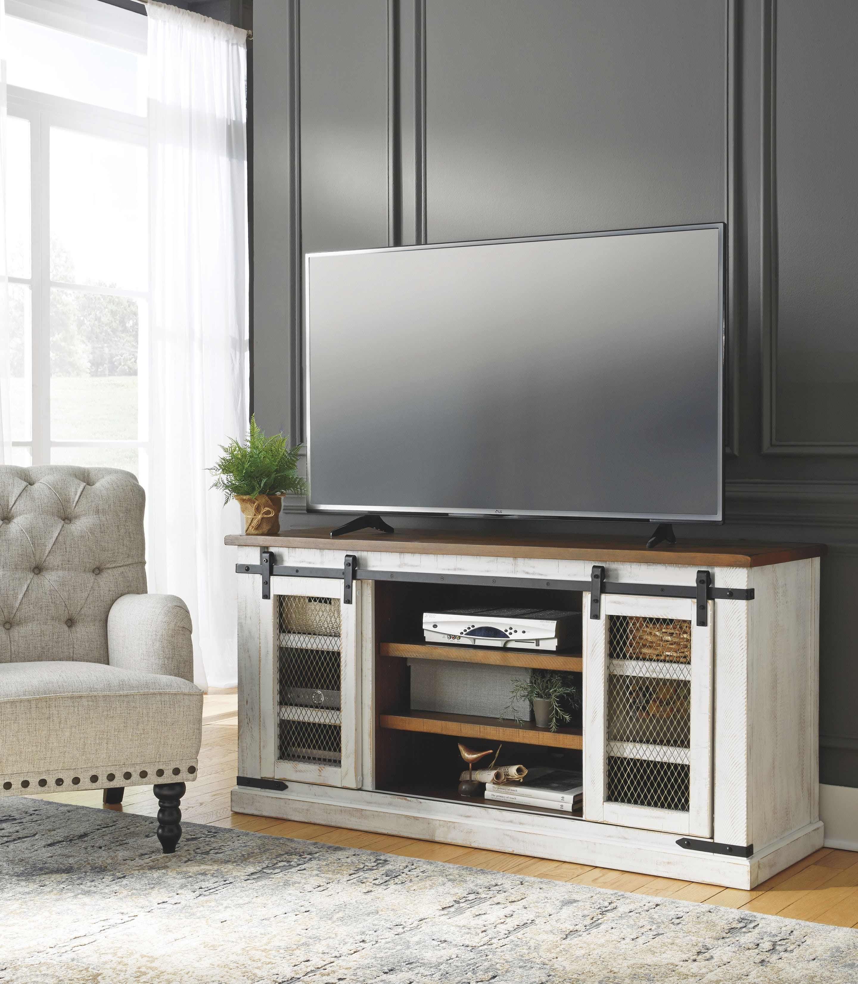 Signature Design By Ashley Home Entertainment Large TV Stand At Skaff  Furniture Carpet One Floor U0026