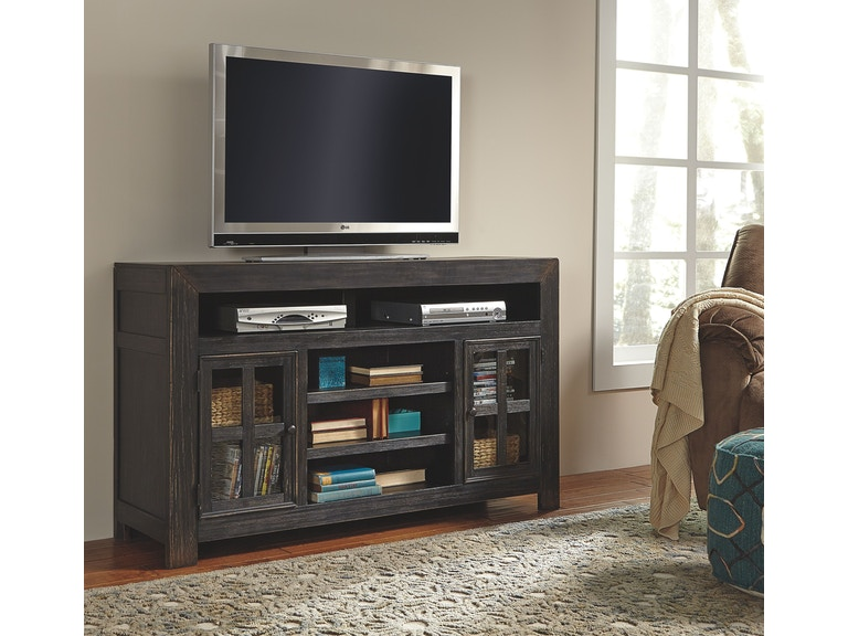 3738e8fc409 Signature Design by Ashley Home Entertainment LG TV Stand w Fireplace  Option W732-38 at The Furniture Mall