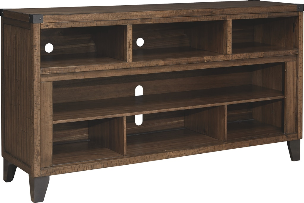 Signature Design By Ashley Home Entertainment Royard 65 Tv Stand Frazier And Son Furniture