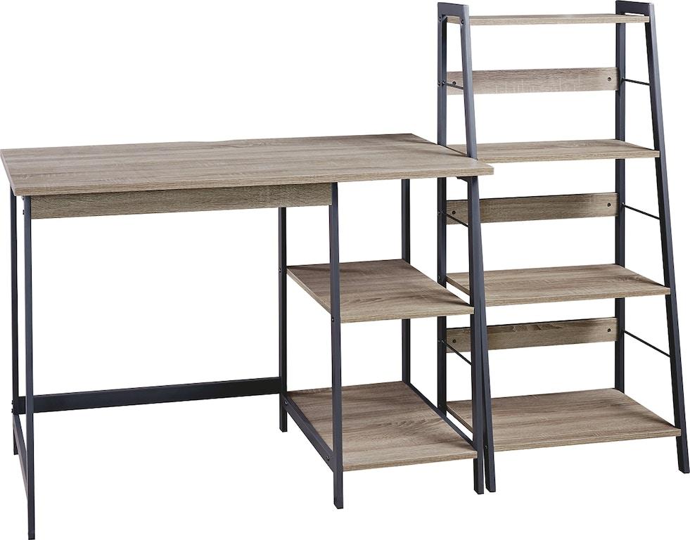 Ashley Soho Home Office Desk And Shelf