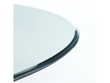 Bassett Mirror Company Clear Glass 48rd Dining Top 0045