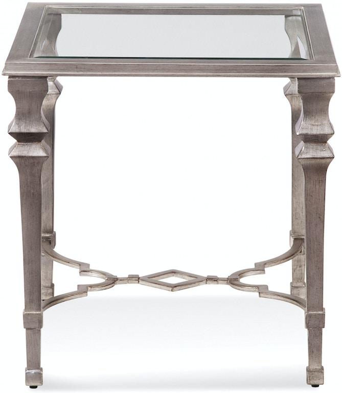 Bassett Mirror Company Living Room Sylvia Sq End 1212-250