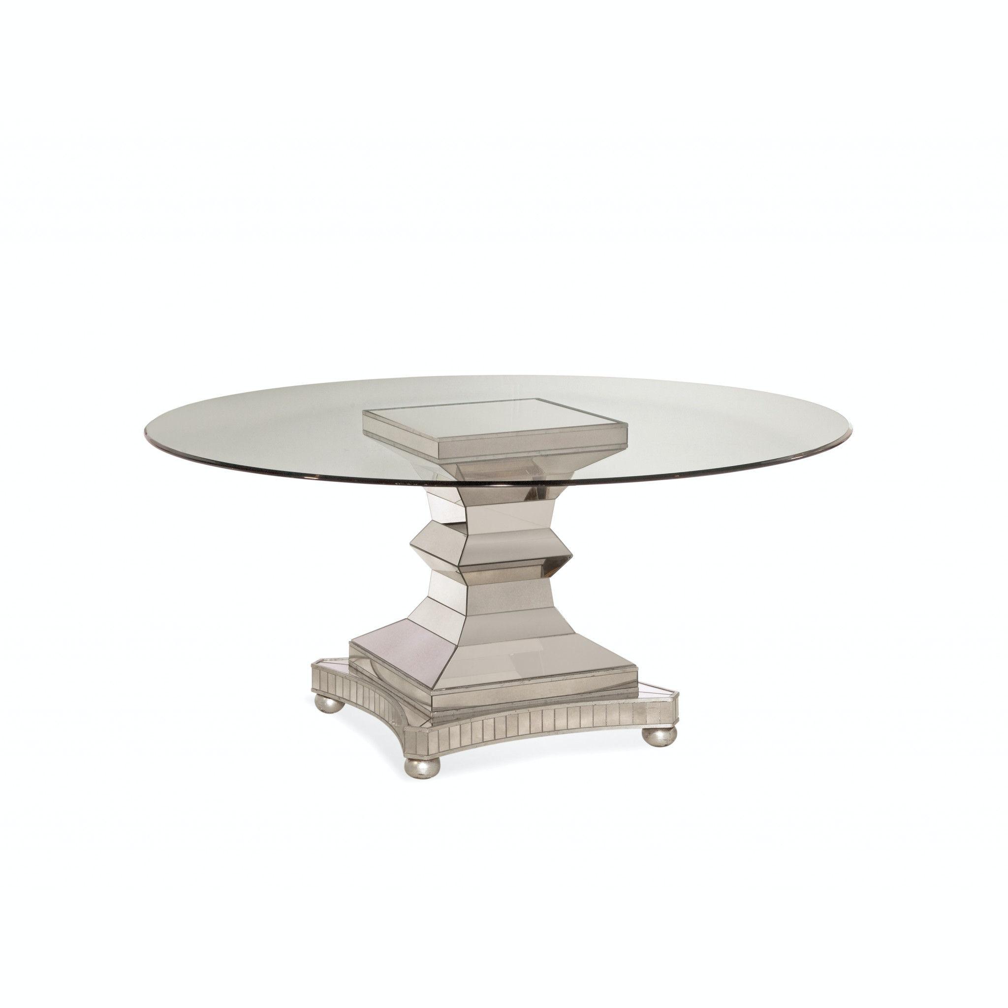 Bassett Mirror Company Moiselle Dining Table 3179-700-095 ...