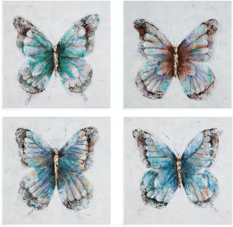 Bassett Mirror Company Accessories Metallic Butterflies (S