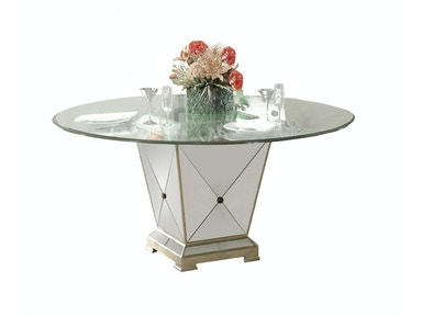 Bassett Mirror Company Borghese Dining Pedestal Table 8311-601-906