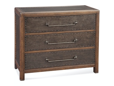 Bassett Mirror Company Raylan Metal Hall Chest A2297