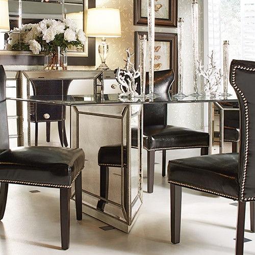 Bassett Mirror Company Murano Dining Table D2624 600 909