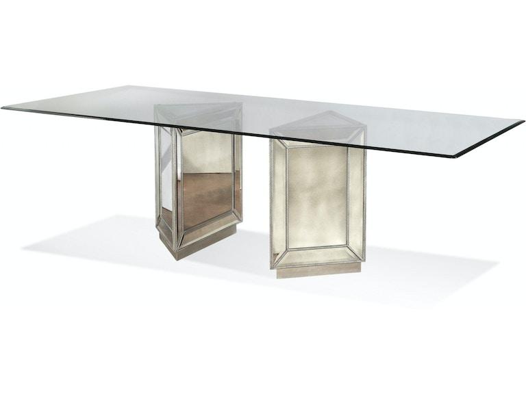 Bassett Mirror Company Dining Room Murano Dining Table D2624 600 909 Carol House Furniture