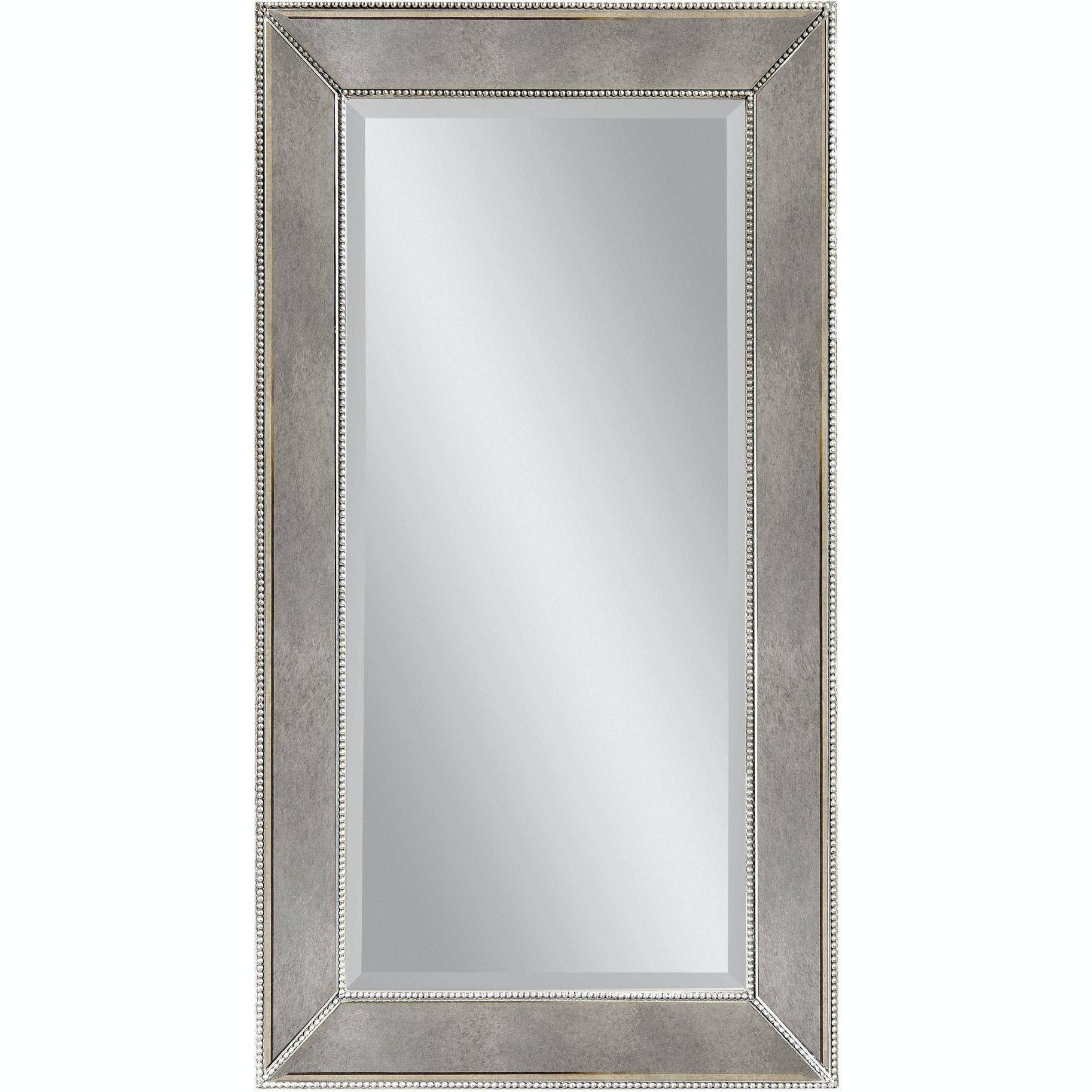 Bassett Mirror Company Beaded Wall Mirror M3340B