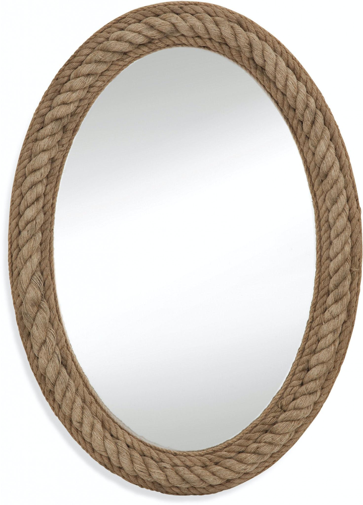 Bassett Mirror Company Accessories Rope Wall Mirror