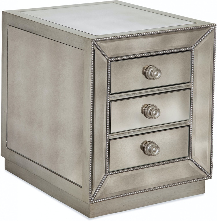 Bassett Furniture Greensboro: Bassett Mirror Company Living Room Murano Chairside Chest