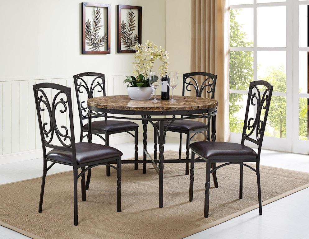 Heavy Duty Folding Picnic Table, Bernards Dining Room Tuscan Casual Dining Table 4550 Butterworths Of Petersburg Petersburg Va
