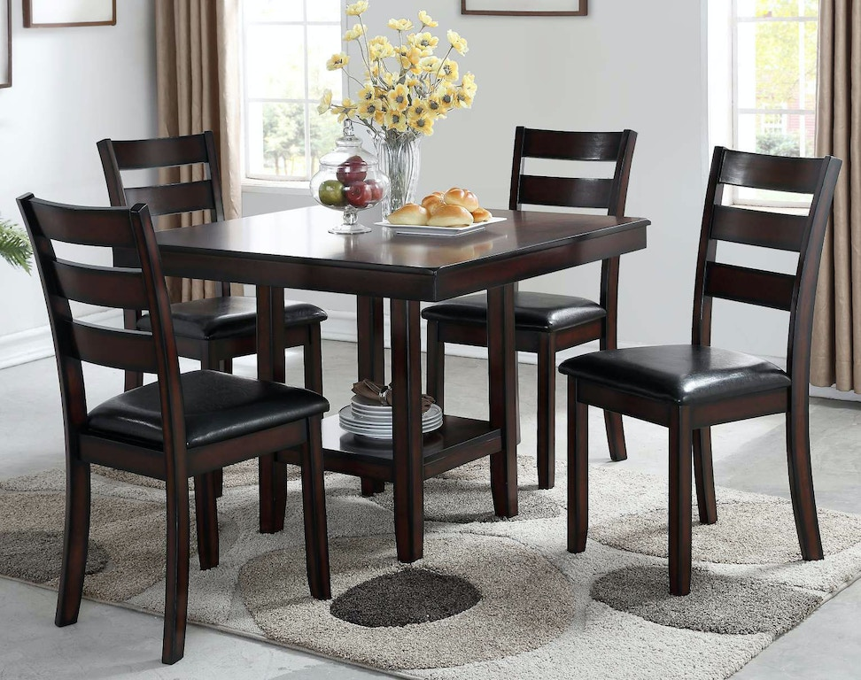 Bernards Dining Room Cromwell Casual Dining Set 5670-500 ...