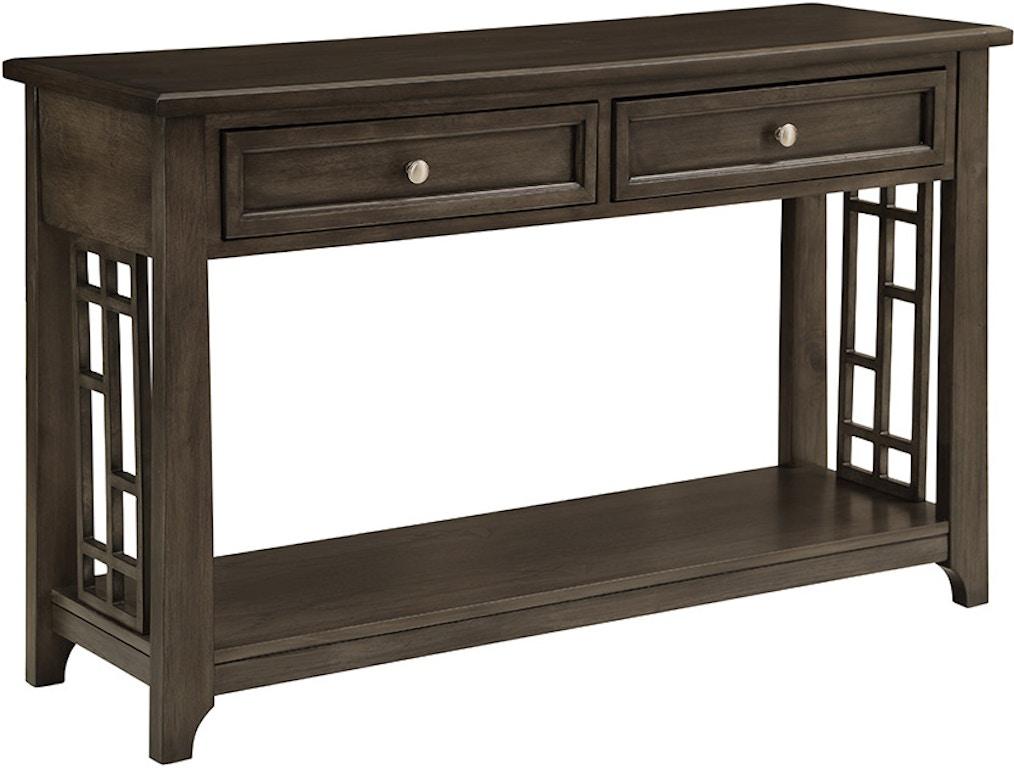 Amazing Bernards Living Room Modesto Occasional Sofa Table 8654 004 Ncnpc Chair Design For Home Ncnpcorg