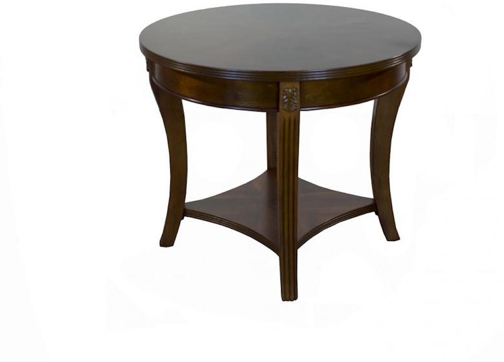 Bernards Living Room Wellington End Table 8851 Gilliam Thompson Furniture Mayfield Ky