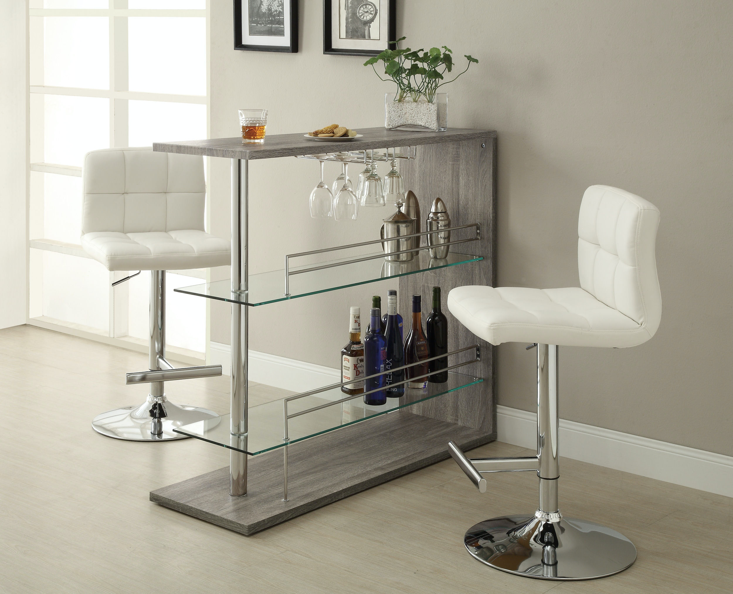 Coaster Bar And Game Room Bar Table 100156   Furniture Kingdom   Gainesville,  FL