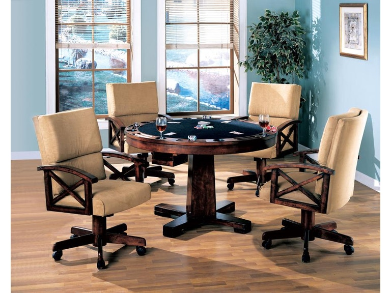 Coaster Bar And Game Room 5 Piece Dining Room Set 100171 S5 Noble