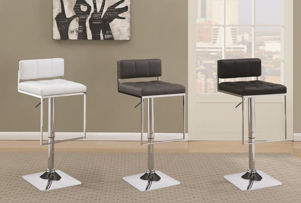 Incredible Coaster Bar And Game Room Adjustable Bar Stool 100195 Gmtry Best Dining Table And Chair Ideas Images Gmtryco