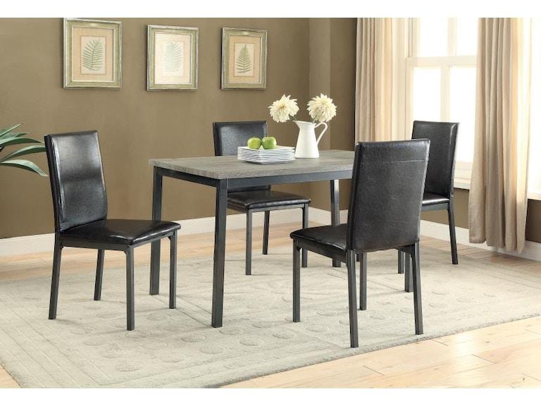 Coaster 5 Piece Dining Room Set 100611 S5 Kensington Furniture And