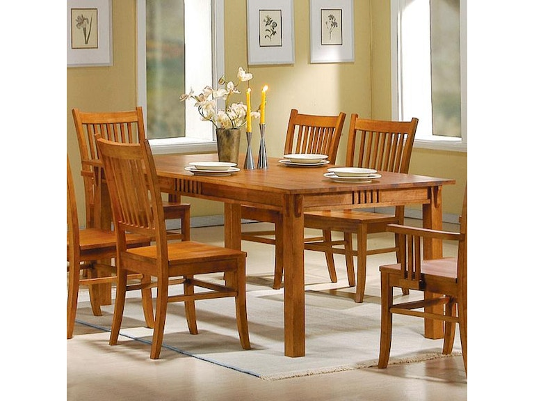 Miraculous Coaster Dining Room Dining Table 100621 Evans Furniture Download Free Architecture Designs Grimeyleaguecom