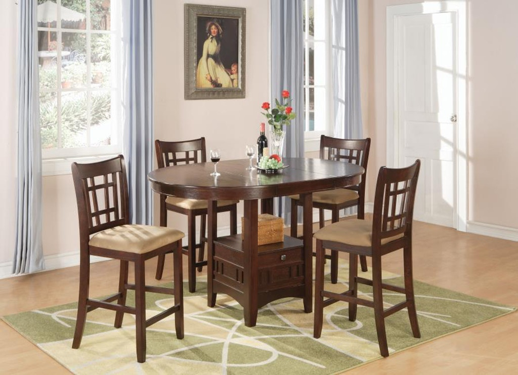 Coaster 5 Piece Dining Room Set 100888n S5 Gallery