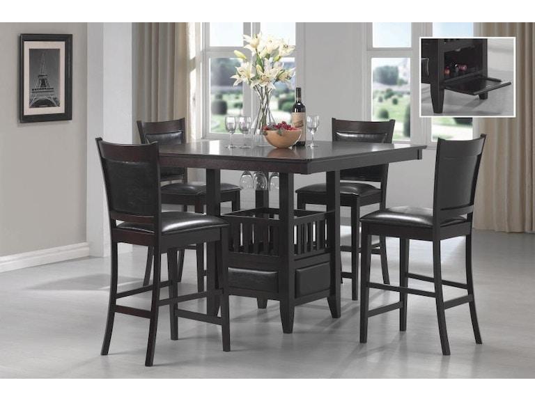 Coaster 5 Piece Dining Room Set 100958 S5 Budget Furniture