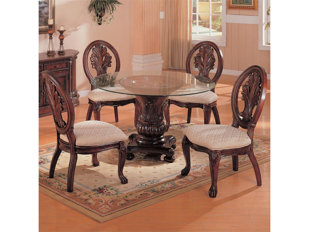 Coaster Dining Room Dining Table Base 101030 The Furniture House Of Carrollton Carrollton