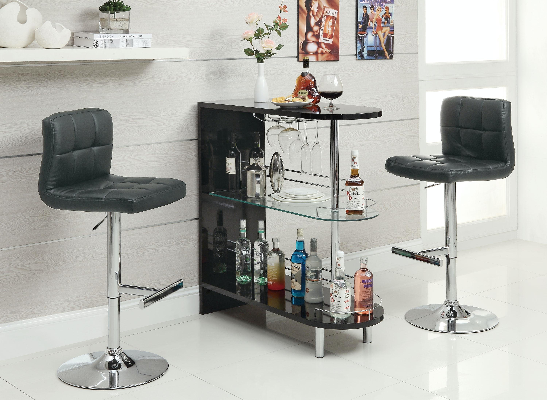 Attirant Coaster Bar Table 101063