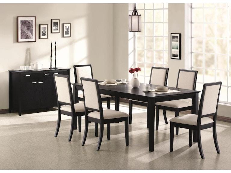 Coaster 5 Piece Dining Room Set 101561 S5 Kensington Furniture And