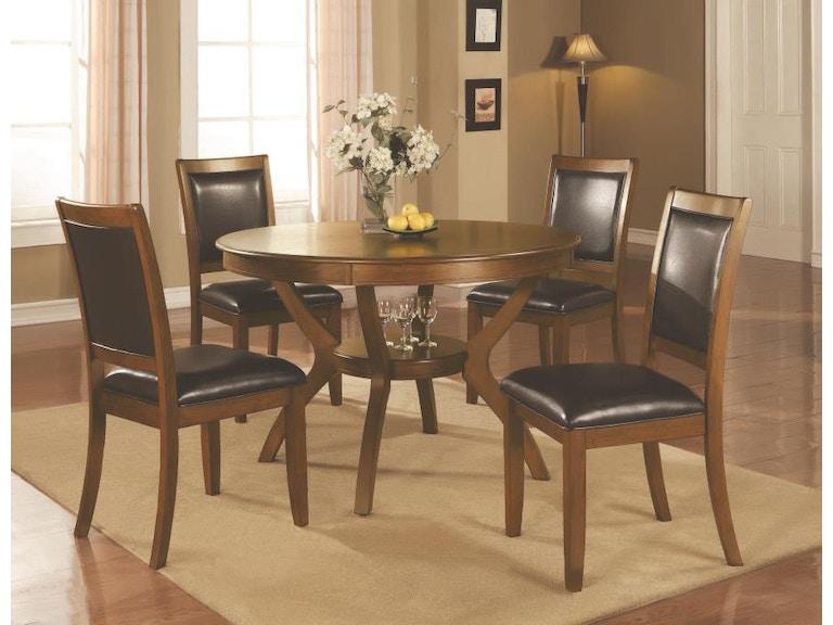Coaster 5 Piece Dining Room Set 102171 S5 Haynes Brothers