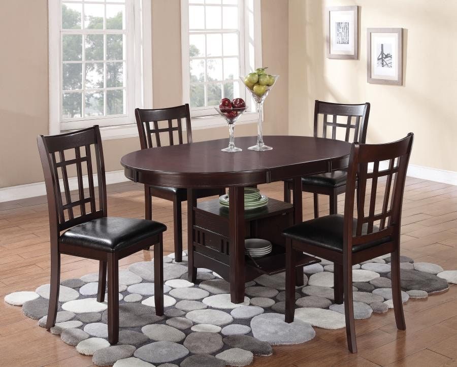 Beau Coaster 5 Piece Dining Room Set 102671 S5