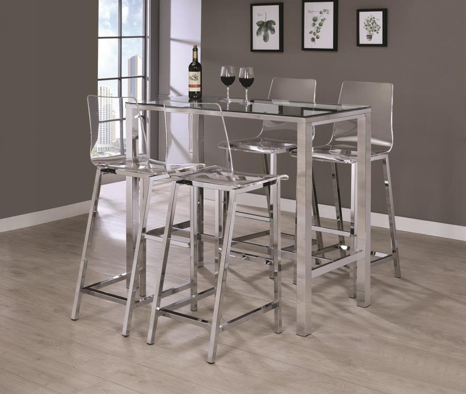 Coaster Bar And Game Room Bar Table 104873 The Loft Home
