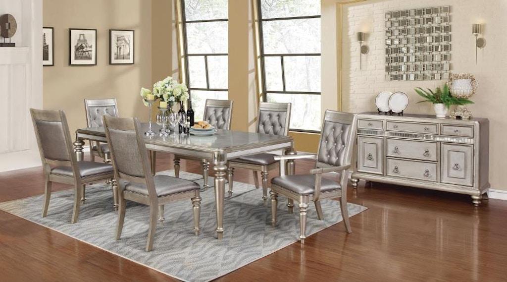 Coaster 5 Piece Dining Room Set 106471 S5 Hi Desert Furniture
