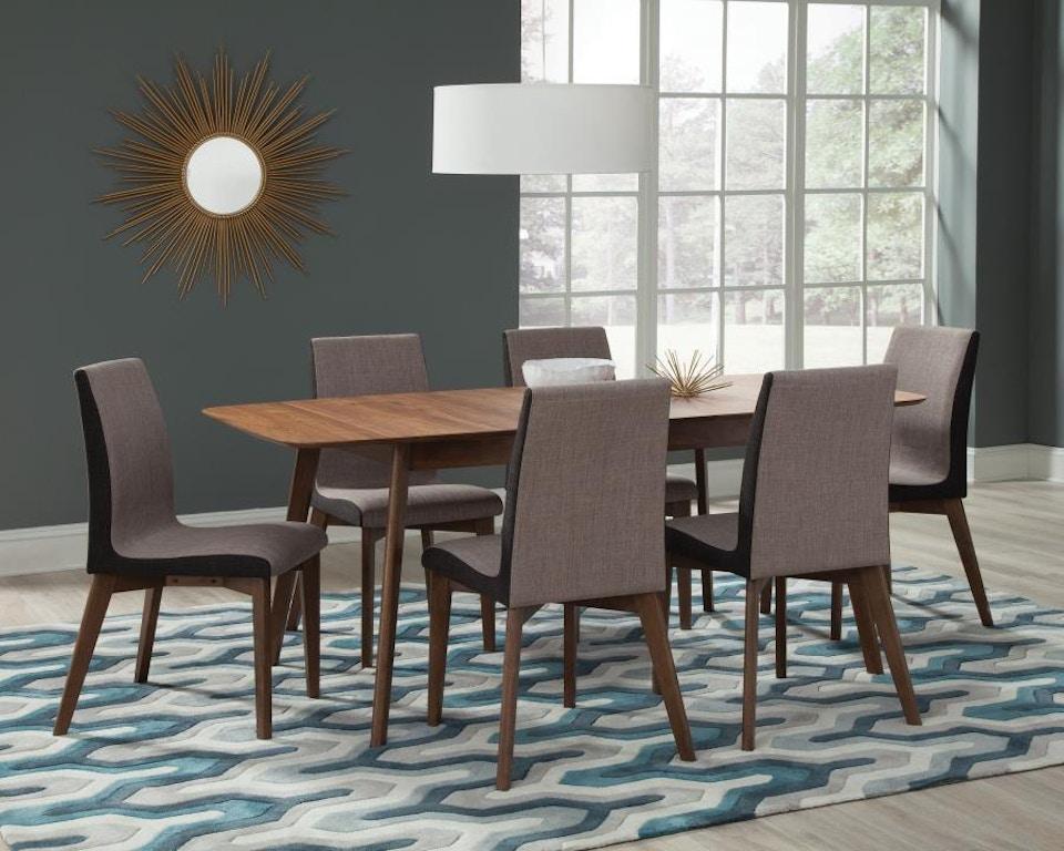 Coaster 5 Piece Dining Room Set 106591 S5 Furniture Forever