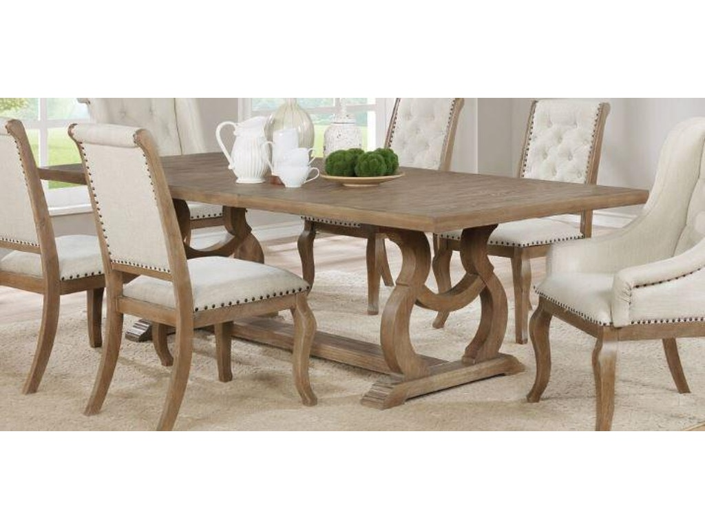 Coaster dining room dining table 107731 furniture for Furniture kingdom