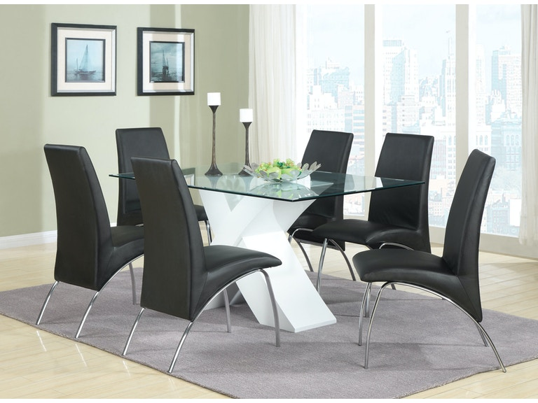 Coaster Dining Room Dining Table 120821 - Gibson Furniture - Andrews, NC