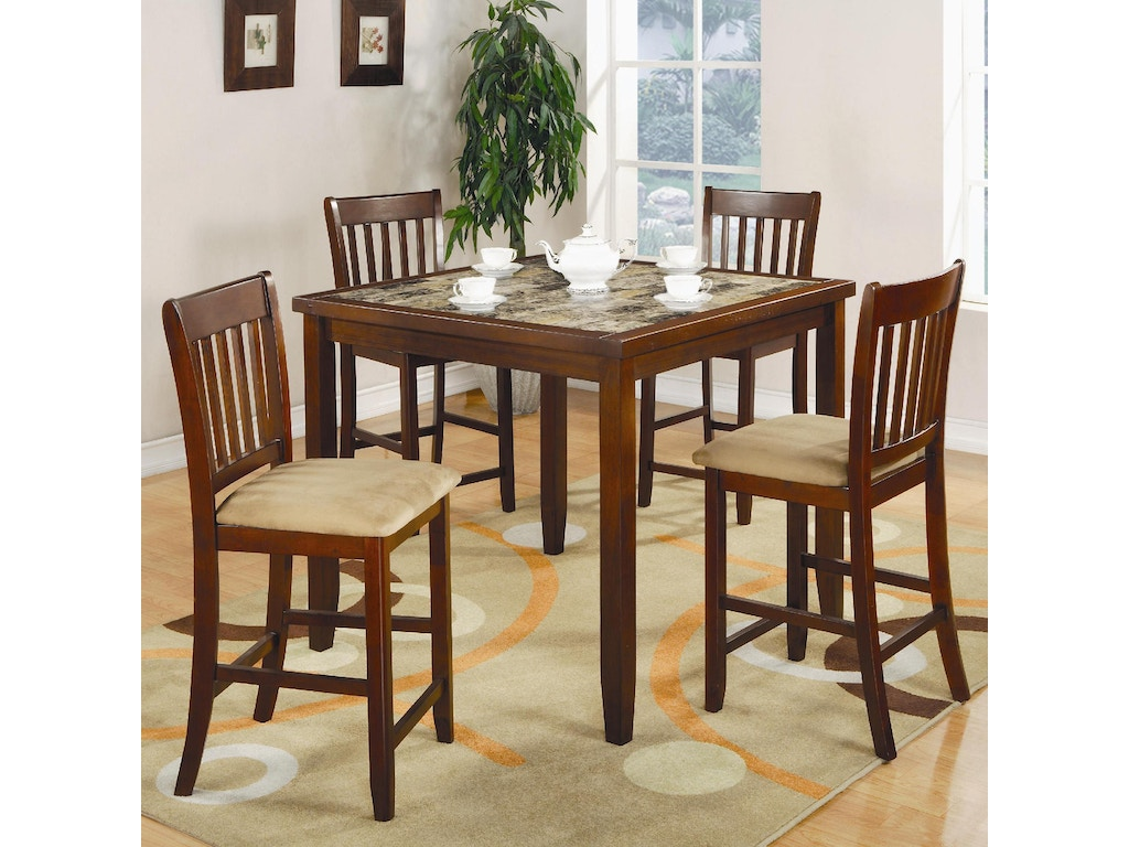 Coaster Dining Room 5 Pc Set 150154 The Furniture House Of Carrollton Car