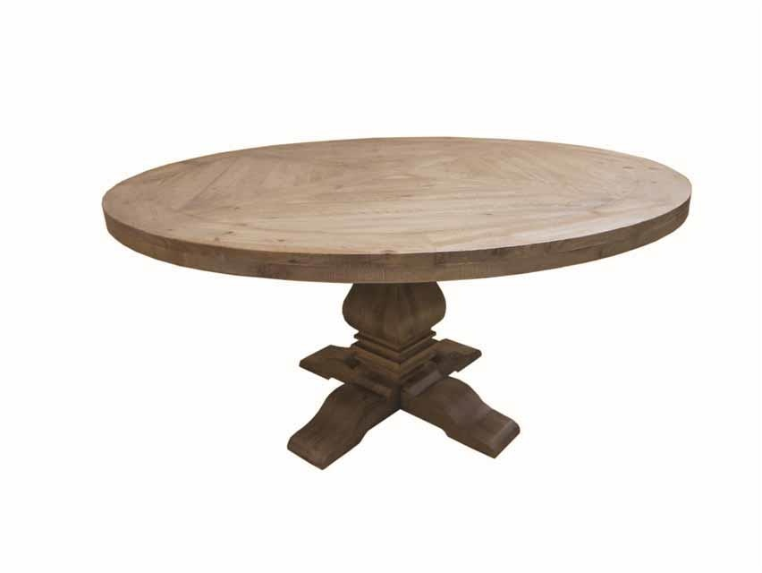 Coaster Florence Round Pedestal Dining Table 180200