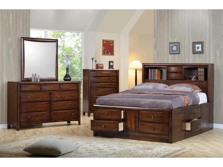 Coaster 4 Piece King Bedroom Set 200609ke S4