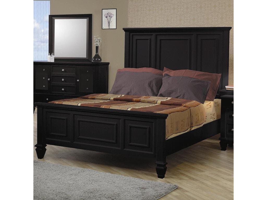 Coaster Bedroom Queen Bed 201321q Evans Furniture