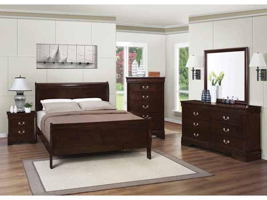 Coaster Bedroom Eastern King Bed 202411ke Evans