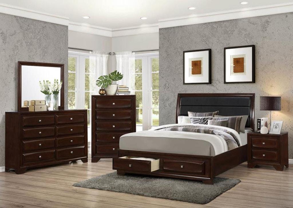 Coaster Bedroom Eastern King Bed 203481ke Daws Home